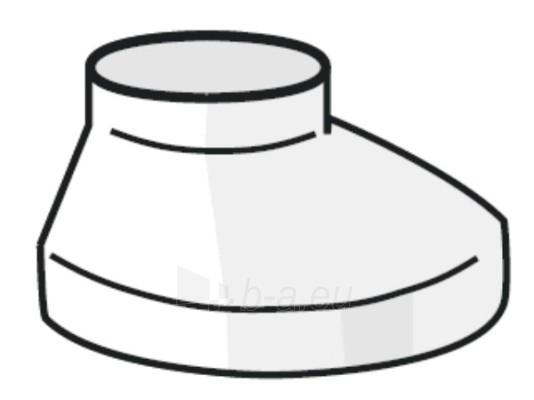 PLASTMO Šulinėlio dangtelis (Nr.11) 90/110 mm (baltas) Paveikslėlis 1 iš 1 237520900110