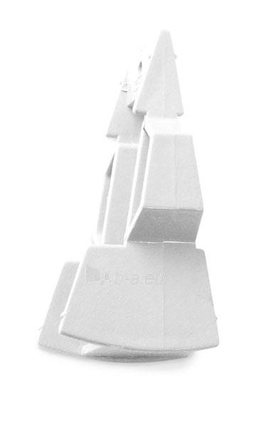 PLASTMO Trikampis kaištis 18/27 laipsn. (baltas) Paveikslėlis 1 iš 2 237520300041