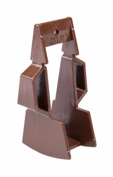 PLASTMO Trikampis kaištis 18/27 laipsn. (rudas) Paveikslėlis 1 iš 2 237520300045