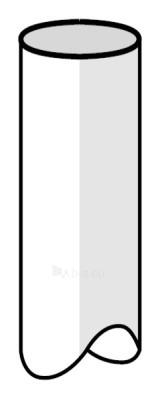 PLASTMO lietvamzdis (Nr.10) 75 mm (baltas) Paveikslėlis 1 iš 1 237520700007