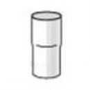 PLASTMO lietvamzdžio jungtis (Nr.11) 90 mm (grafitinė) Paveikslėlis 1 iš 1 237520800003