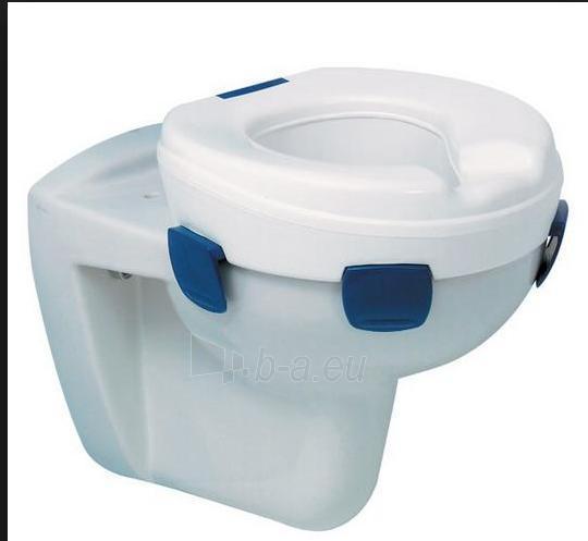 Paaukštinta tualeto sėdynė be dangčio 'Clipper II' Paveikslėlis 2 iš 2 250630800008