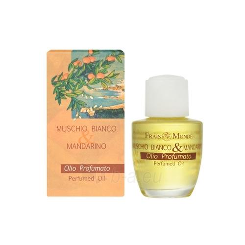 Aromatizēti eļļa Frais Monde White musk and mandarin Cosmetic 12ml Paveikslėlis 1 iš 1 250811009336