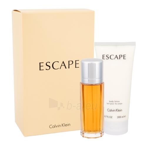 Parfumuotas vanduo Calvin Klein Escape EDP 100ml (rinkinys) Paveikslėlis 1 iš 1 250811002112