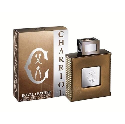 Parfimērijas ūdens Charriol Royal Leather Perfumed water 100ml (testeris) Paveikslėlis 1 iš 1 250812004583