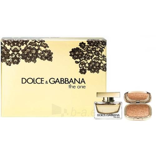 Parfimērijas ūdens Dolce & Gabbana The One EDP 50ml (komplekts) Paveikslėlis 1 iš 1 250811009318