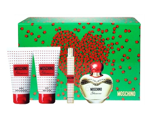 Parfumuotas vanduo Moschino Glamour Perfumed water 50ml (Rinkinys) Paveikslėlis 1 iš 1 250811007620