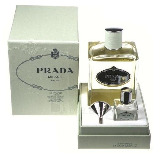 Parfimērijas ūdens Prada Infusion D'Iris EDP 400ml + 30ml buteliukas+piltuvėlis Paveikslėlis 1 iš 1 250811000995