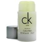 Pieštukinis dezodorantas Calvin Klein One Deostick 75ml Paveikslėlis 1 iš 1 2508910000402