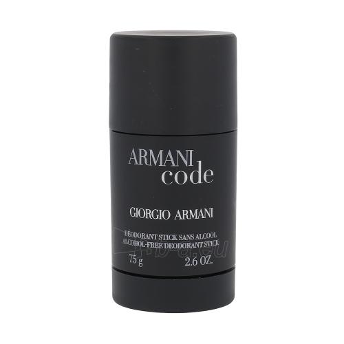 Pieštukinis dezodorantas Giorgio Armani Black Code Deostick 75ml Paveikslėlis 1 iš 1 2508910000479