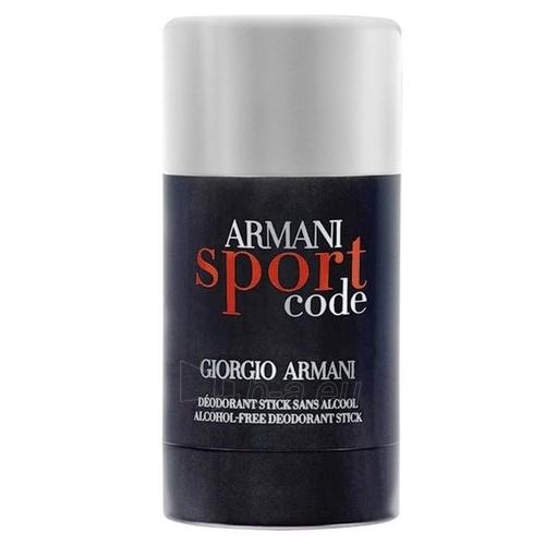 Pieštukinis dezodorantas Giorgio Armani Code Sport Deostick 75ml Paveikslėlis 1 iš 1 2508910000480
