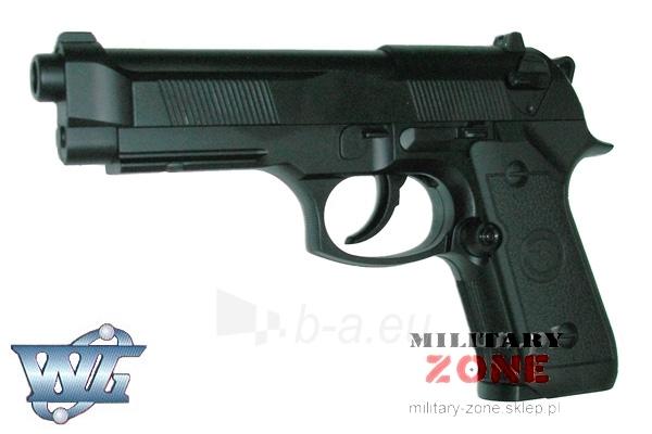 Pistoletas M92 FIREARM 302 AEG CO2 Paveikslėlis 1 iš 1 251570200011