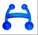 Plastmasinis masažuoklis Paveikslėlis 1 iš 1 250630300013