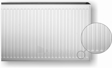 steel radiator HM Heizkörper 20VK-6-2000, with the lower connection Paveikslėlis 3 iš 3 270622000481