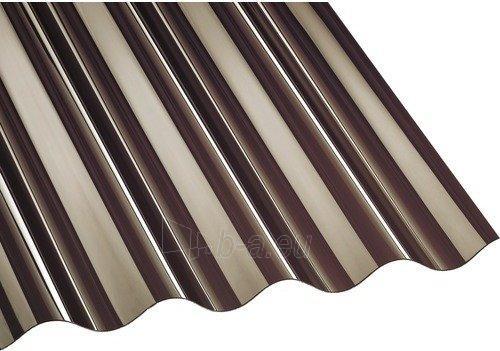 Plate PVC sinus 900x3000 mm bronze Paveikslėlis 1 iš 2 237160000203