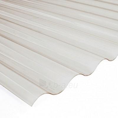 Plate PVC sinus 900x3000 mm bronze Paveikslėlis 2 iš 2 237160000203