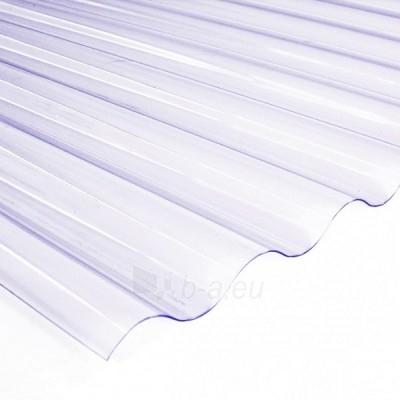 Plokštė PVC sinusinė 900x3000 mm skaidri Paveikslėlis 1 iš 1 237160000204