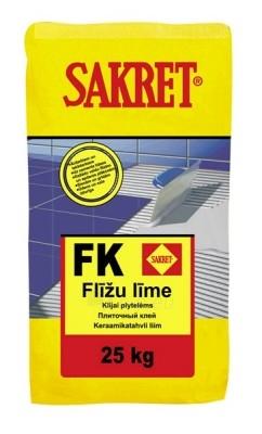 Plytelių klijai FK 5 kg Paveikslėlis 1 iš 1 236780600048