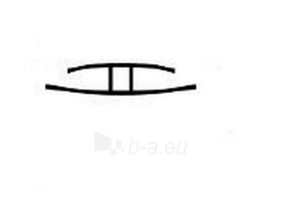 Polikarbonato sujungimo profilis 16x6000 mm Paveikslėlis 2 iš 2 237112500038