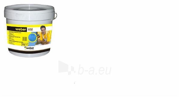 Polimerinė hidroizoliacija Weber HM, 17kg Paveikslėlis 1 iš 2 236890600019