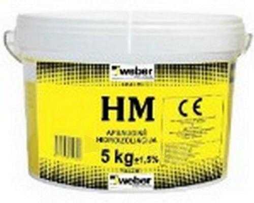 Polimerinė hidroizoliacija Weber HM, 17kg Paveikslėlis 2 iš 2 236890600019