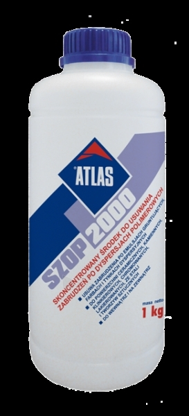 ATLAS SZOP 2000 - concentrated Liquid for poLymer dispersion stains removaL 1kg Paveikslėlis 1 iš 1 236690000016