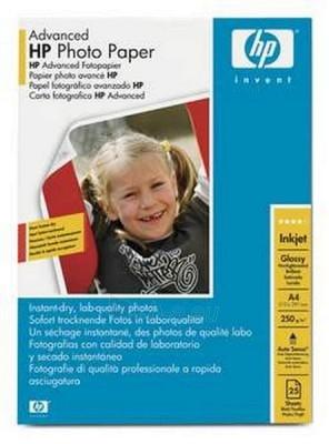 Popierius HP ADVANCED GLOSSY PHOTO PAPER 250 G/M- Paveikslėlis 1 iš 1 250256010079
