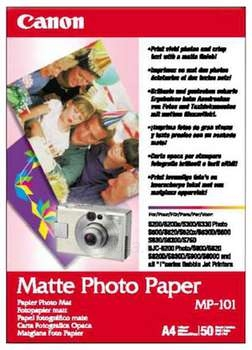 Popierius MP-101 MATTE PHOTO PAPER A4/50 SHEET Paveikslėlis 1 iš 1 250256010048
