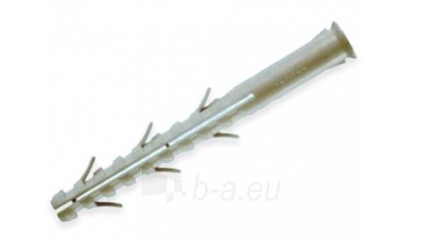 Prailgintas kaištis 10x100 (į sk. plytas, dujų betoną) Paveikslėlis 1 iš 1 236220100002