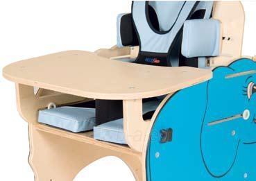 Priedas darbo kėdutei DRAMBLIUKAS (medinis staliukas) Paveikslėlis 1 iš 1 250630400031