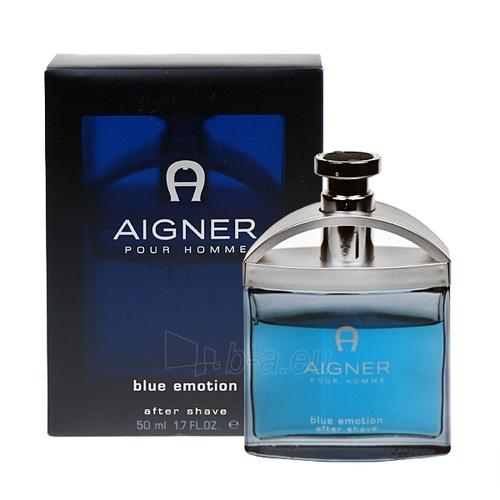 Priemonė po skutimosi Aigner Blue Emotion Aftershave 50ml Paveikslėlis 1 iš 1 250881300530