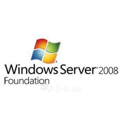 Programinė įranga HP MS WIN SERVER 2008 R2 FOUNDATION Paveikslėlis 1 iš 1 250258000056