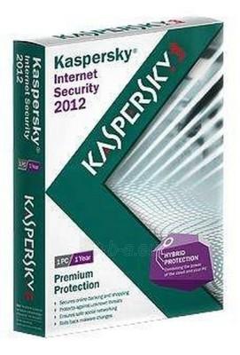 Programinė įranga KASPERSKY INTERNET SEC 2012 2-PC 1Y FULL Paveikslėlis 1 iš 1 250258000058