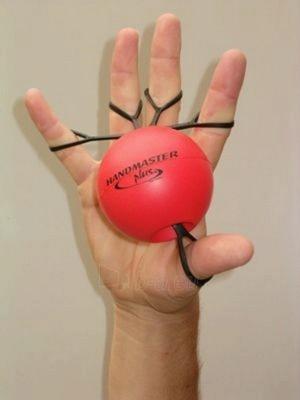 Rankos treniruoklis 'Handmaster Plus' (raudonas) Paveikslėlis 1 iš 1 250630500010