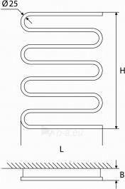Rankšluosčių džiovintuvas EE 800 S D.P. 100W Paveikslėlis 3 iš 8 270652000015