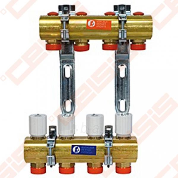 Reguliuojamas kolektorius Giacomini 10 žiedų | su balansiniais ventiliais Paveikslėlis 1 iš 3 270331000023