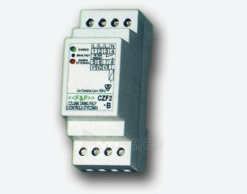 Relė fazių kontrolės CZF-2B /3x400V/10A Paveikslėlis 1 iš 1 222945000098