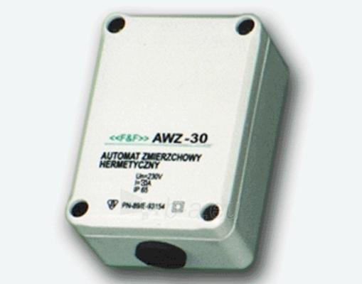 Relė foto AWZ-30/30A/220V/IP65 dežutė Paveikslėlis 1 iš 1 222945000094