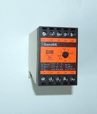 Rėlė laiko GIM 3h 230V Paveikslėlis 1 iš 1 222941000012