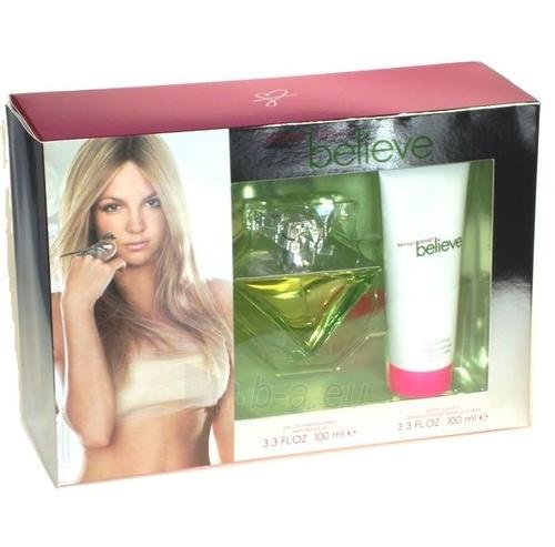 Set Britney Spears Believe EDP 100ml + 100ml body lotion Paveikslėlis 1 iš 1 250811000397