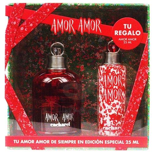 Set Cacharel Amor Amor EDT 100ml + 25ml Paveikslėlis 1 iš 1 250811000436
