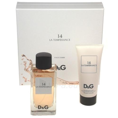 Set Dolce&Gabbana La Temperance 14 EDT 100ml + 100ml body lotion Paveikslėlis 1 iš 1 250811000583