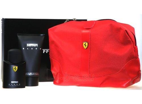 Komplekts Ferrari Black Line EDT 75ml + 150ml dušas želeja Paveikslėlis 1 iš 1 250812000325