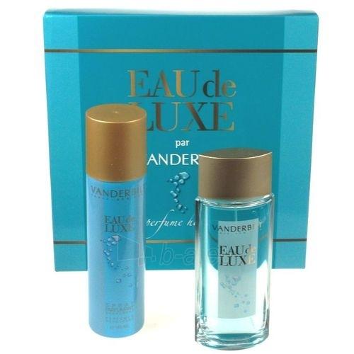 Komplekts Gloria Vanderbilt Eau de Luxe EDT 100ml + 150ml dezodorants Paveikslėlis 1 iš 1 250811001145
