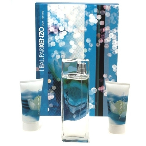 Set Kenzo L'eau par Kenzo EDT 100ml + 50ml body gel + 50ml shower gel Paveikslėlis 1 iš 1 250811000836