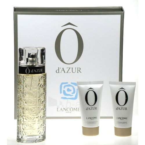 Set O d'Azur EDT 125ml + 50ml body lotion + 50ml shower gel Paveikslėlis 1 iš 1 250811000872