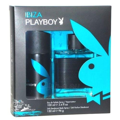 Set Playboy Ibiza EDT 100ml + 150ml deodorant Paveikslėlis 1 iš 1 250812000544