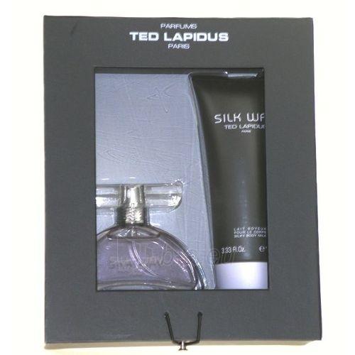 Rinkinys Ted Lapidus Silk Way EDP 50ml + 100ml kūno losjonas Paveikslėlis 1 iš 1 250811001081