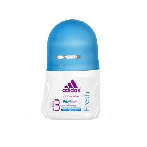 Rutulinis dezodorantas Adidas Action 3 Fresh moterims 50ml Paveikslėlis 1 iš 1 2508910000690