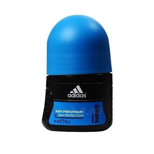 Rutulinis dezodorantas Adidas Fresh Impact Deo Rollon 50ml Paveikslėlis 1 iš 1 2508910000696
